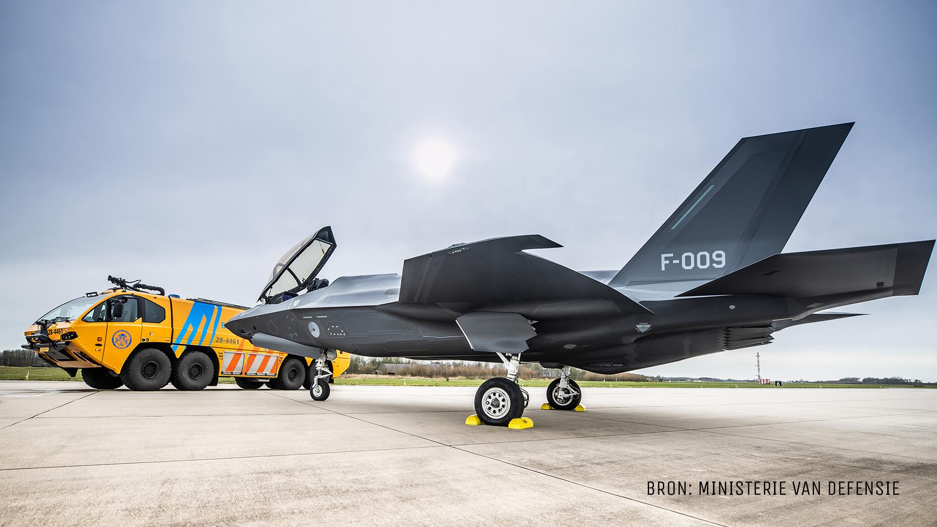 stockmateriaal F-35 en brandweer